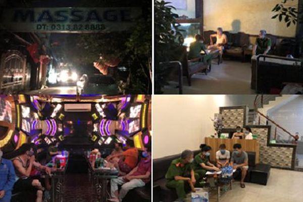 Phát hiện thêm nhiều cơ sở massage, karaoke vi phạm phòng chống dịch Covid-19