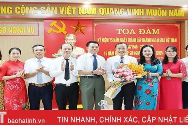 Chủ động tham mưu hiệu quả công tác đối ngoại của tỉnh Hà Tĩnh