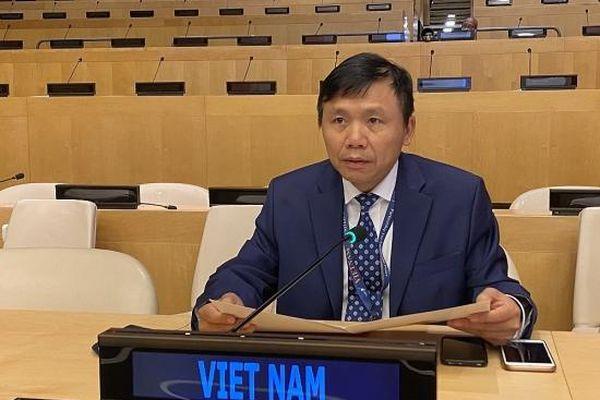 Việt Nam thay mặt ASEAN kêu gọi ngừng thử hạt nhân, hướng tới giải trừ quân bị