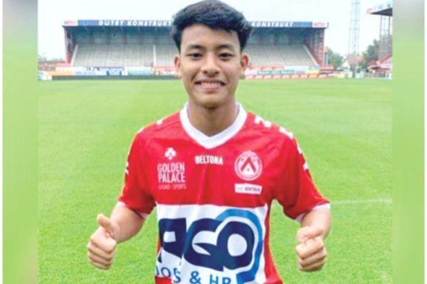 Tài năng trẻ Malaysia sang Bỉ, ra sân và ghi bàn