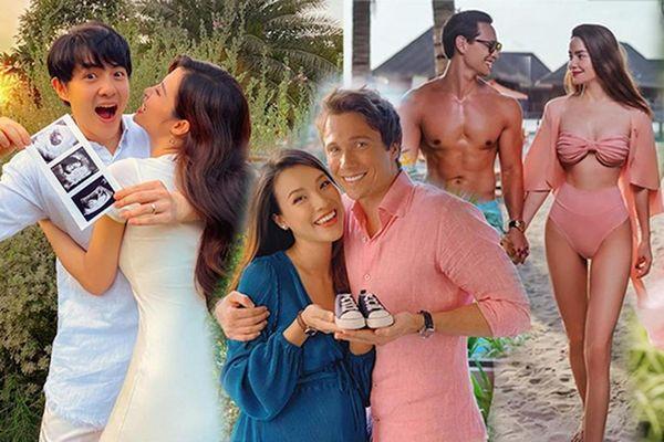 Hồ Ngọc Hà, Đông Nhi và dàn mẹ bầu 'hot' nhất showbiz Việt 2020