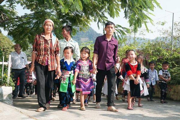 Nghệ An: Trường vùng biên rộn rã đón trò