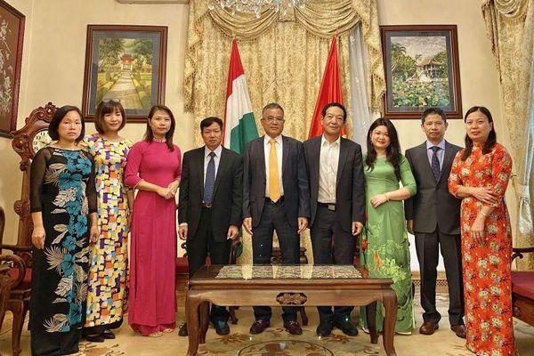 Đại sứ quán Việt Nam tại Hungary kỷ niệm 75 năm thành lập ngành Ngoại giao và Quốc khánh 2/9