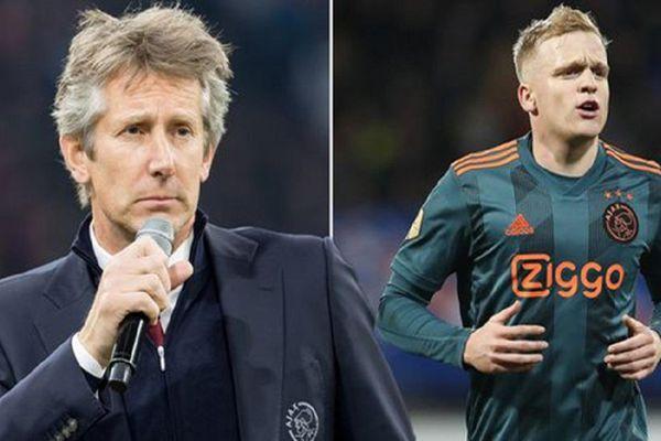 Huyền thoại Van Der Sar viết tâm thư gửi gắm Van de Beek cho MU