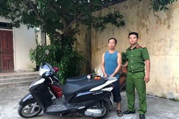 Đã bắt được tên cướp nguy hiểm ở Hà Tĩnh đang trốn tại Bình Thuận