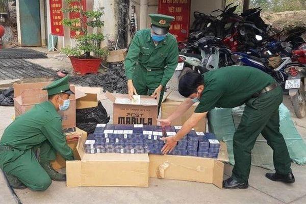 Long An: 8 tháng thu giữ 1,6 triệu gói thuốc lá lậu
