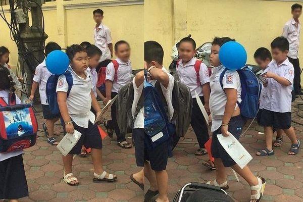 Mùa tựu trường năm nào cũng bị réo tên bởi hình ảnh 'huyền thoại', Bi Béo - con trai nghệ sĩ Xuân Bắc năm nay có gì mới mẻ?