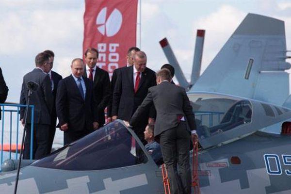 Tiêm kích Su-57 hết đường vào Thổ