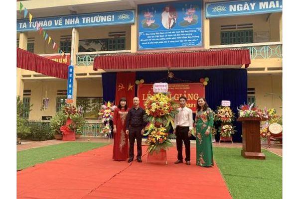 Tổng Công ty Thép Việt Nam – CTCP tài trợ công trình Nhà bán trú Trường Tiểu học Tân Thượng tại Lào Cai