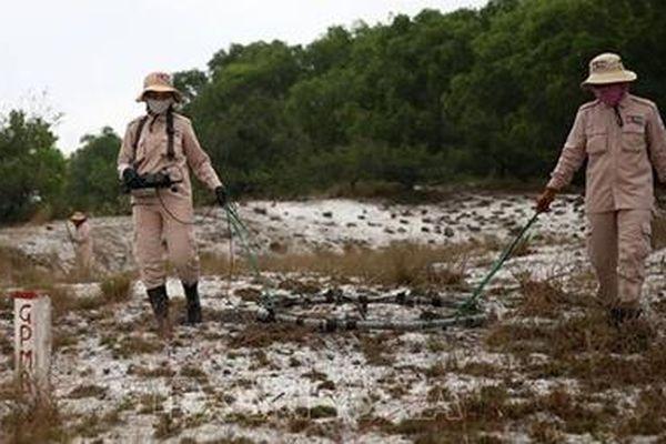 Các nhà tài trợ quốc tế hỗ trợ Quảng Trị làm sạch bom mìn