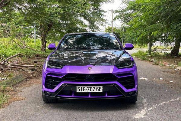 Siêu SUV Lamborghini Urus hơn 20 tỷ màu độc nhất Việt Nam