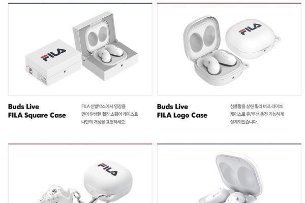 Galaxy Buds Live bản FILA: giới hạn 2.000 chiếc, giá 176 USD