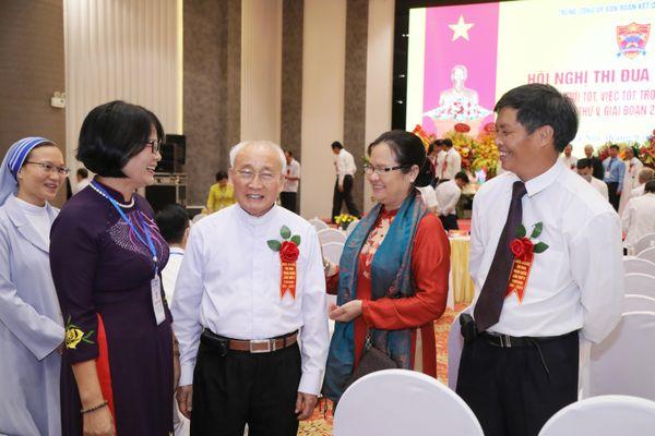 Đồng bào công giáo Việt Nam đoàn kết, gắn bó, chung sức đồng lòng xây dựng quê hương
