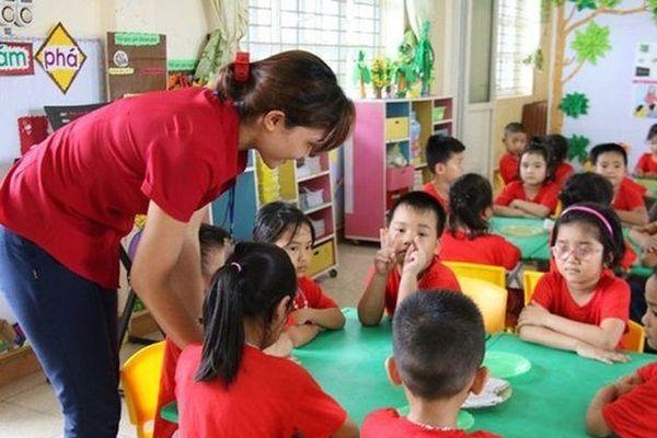 Một số chính sách mới đối với giáo viên mầm non