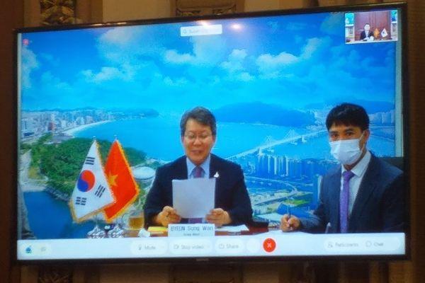 TP.HCM trao đổi kinh nghiệm chống dịch và hợp tác kinh tế với Busan