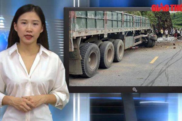 Video TNGT ngày 11/9: Hai người tử vong khi vào cua mất phanh trên QL4D