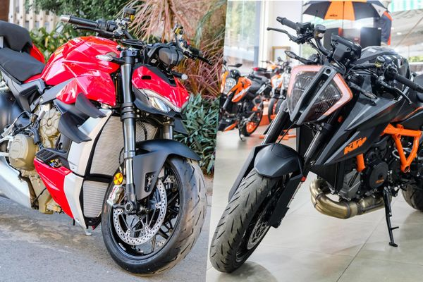 So sánh Ducati Streetfighter V4 và KTM 1290 Super Duke R