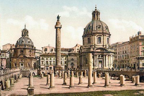 Italy qua những ảnh màu quý hiếm từ hơn 100 năm trước