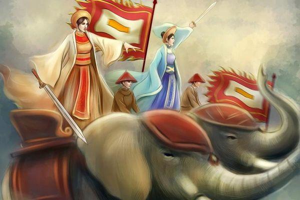 Chân dung các nữ tướng nổi tiếng trong sử Việt