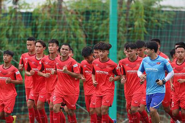 U22 Việt Nam chuẩn bị so tài với đàn em U19 Việt Nam?