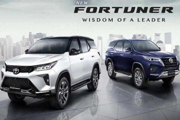Thông số kỹ thuật Toyota Fortuner 2020 mới bán tại Việt Nam