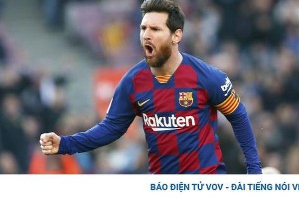 Nối gót Cristiano Ronaldo, Lionel Messi trở thành tỷ phú USD