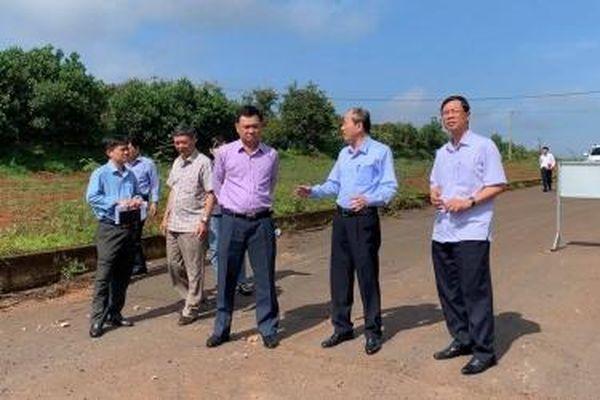 Đắk Lắk yêu cầu sớm hoàn thành dự án đại lộ Đông - Tây