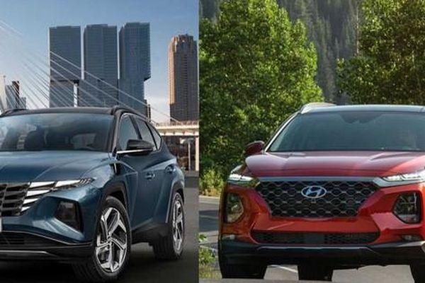 Đọ thông số Hyundai Tucson vs Hyundai Santa Fe: Bé hơn nhưng nhiều điểm vượt trội hơn
