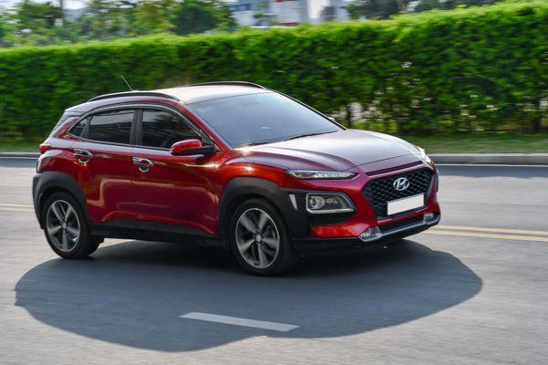 Hyundai Kona dẫn đầu phân khúc SUV đô thị