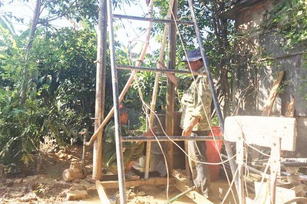 Khô hạn nặng khắp vùng gò đồi Quảng Trị