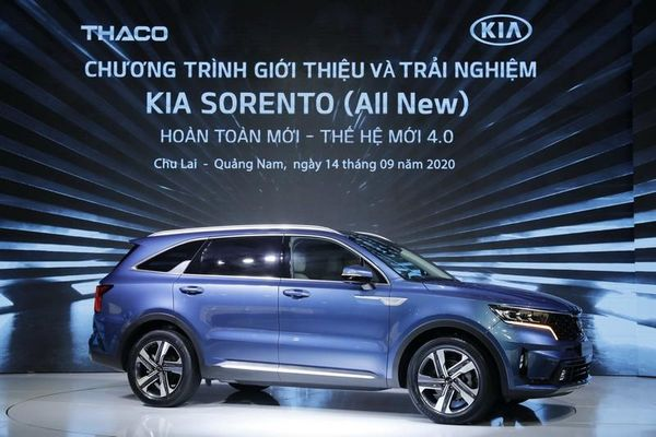 THACO ra mắt Kia Sorento thế hệ 4.0 tại Việt Nam