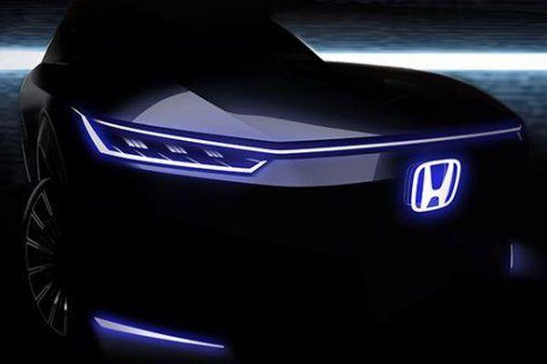 Honda 'nhá hàng' mẫu xe điện sắp ra mắt