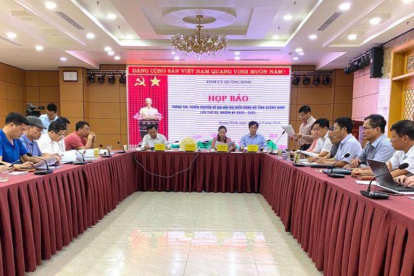 Đại hội đảng bộ Quảng Ninh sẽ diễn ra từ ngày 25-27/9