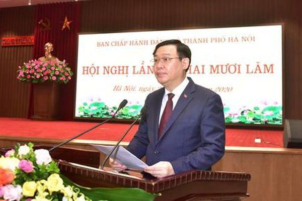 Đảng bộ TP. Hà Nội: Tập trung phòng, chống dịch Covid-19