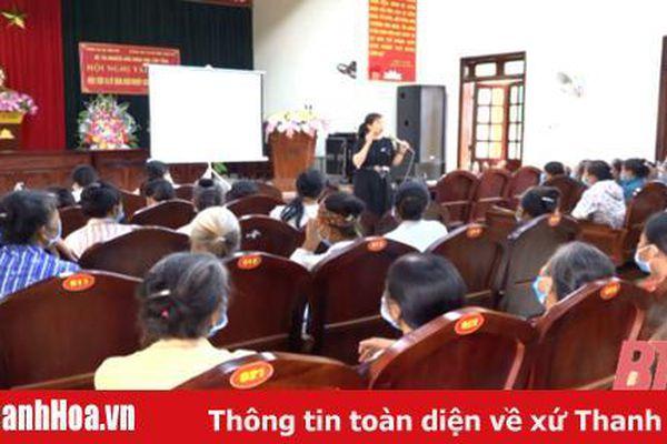 Vĩnh Lộc: Tập huấn kiến thức, kỹ năng khởi nghiệp cho phụ nữ nông thôn