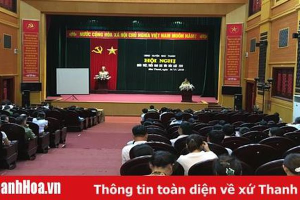 Đổi mới hình thức tuyên truyền, phổ biến, giáo dục pháp luật ở huyện Như Thanh