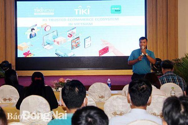 Tổ chức 3 lớp tập huấn về thương mại điện tử