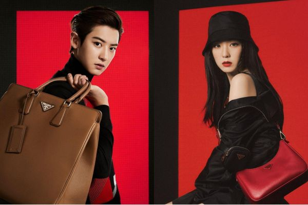 Chanyeol và Irene trở thành đại sứ thương hiệu cho Prada
