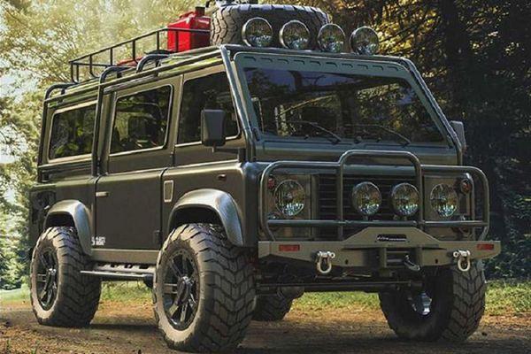 Land Rover Defender 'biến hình' van off-road trong mơ cho dân phượt