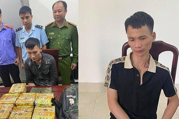 Bắt đối tượng 'cõng' 10 kg ma túy từ Nghệ An ra Hải Dương