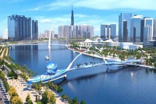 TP. HCM chốt thiết kế cầu đi bộ qua sông Sài Gòn