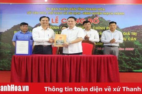 Công bố quy hoạch tổng thể bảo tồn, tôn tạo và phát huy giá trị Di tích Hang Con Moong và các di tích phụ cận
