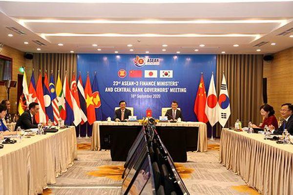 Một số hình ảnh Hội nghị Bộ trưởng Tài chính và Thống đốc Ngân hàng Trung ương ASEAN+3 lần thứ 23