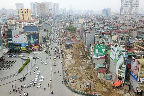 Hà Nội: 'Ăn theo' đường vành đai 2, giá nhà mặt đường tăng vọt