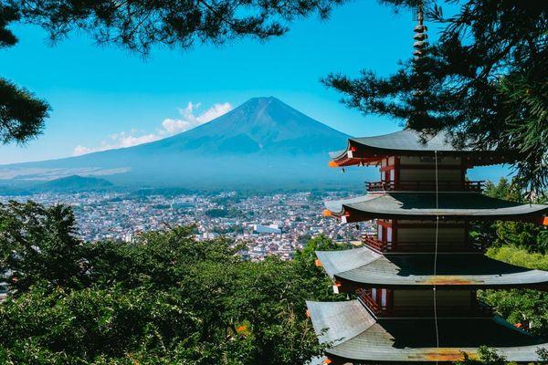 Trải nghiệm núi Phú Sĩ vào mùa hè