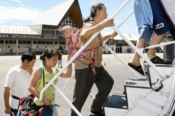 Chuyến bay từ Trung Quốc khiến quốc đảo Solomon dậy sóng