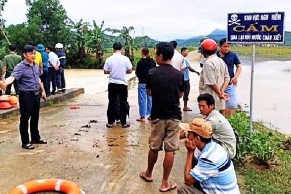 Hà Tĩnh: Tìm thấy thi thể người đàn ông bị nước lũ cuốn trôi