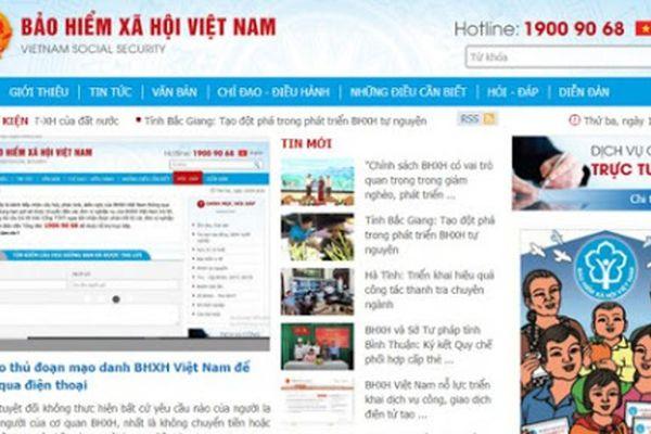 Cảnh báo thủ đoạn mạo danh Bảo hiểm xã hội Việt Nam để lừa đảo