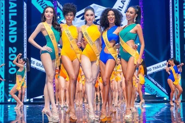 Thí sinh Hoa hậu Hòa bình Thái Lan 2020 gặp sự cố với bikini