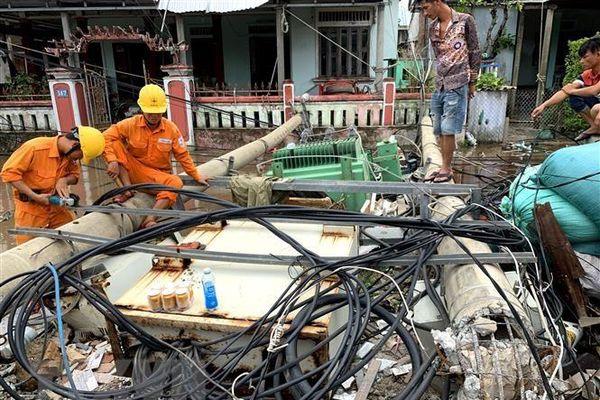 Ngày 19/9 sẽ khôi phục toàn bộ phụ tải của Quảng Trị, Quảng Nam, Huế